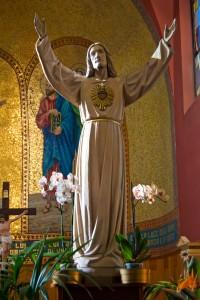 Statua del Sacro Cuore